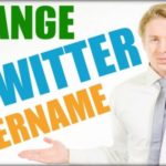 How To Change Twitter Name / Handle